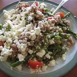 Asparagus, Feta and Couscous Salad Sarah