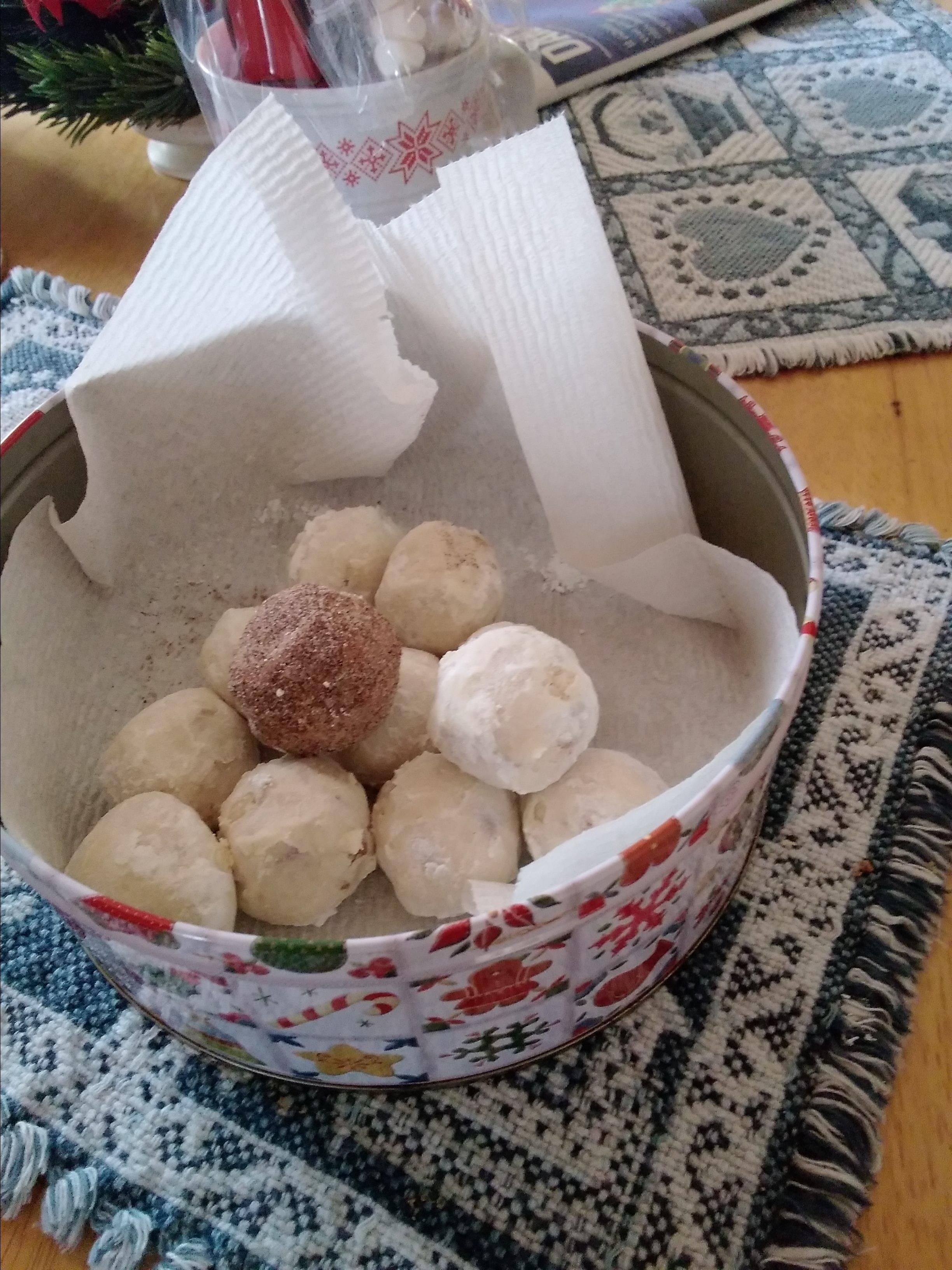 Walnut Balls Carmen Maria Lopez