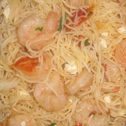 Feta Shrimp Pasta PamMar