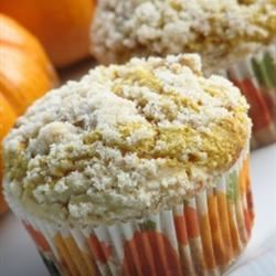 Cream Cheese Filled Pumpkin Muffins