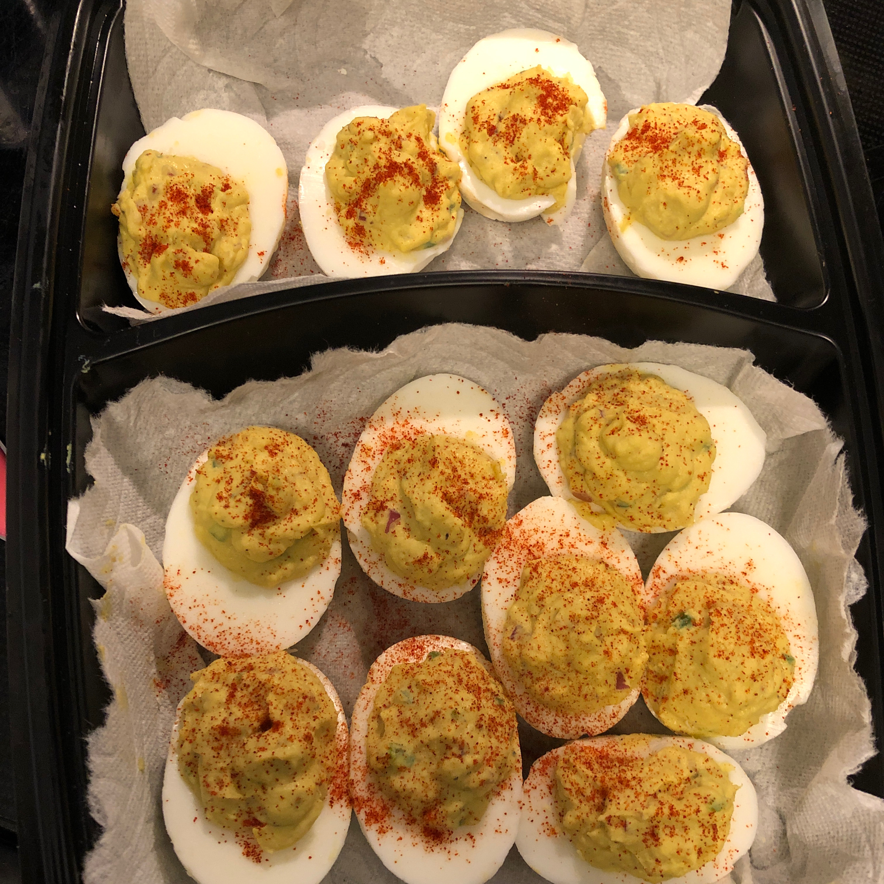 Deviled Eggs - Mexican Devils! Liz