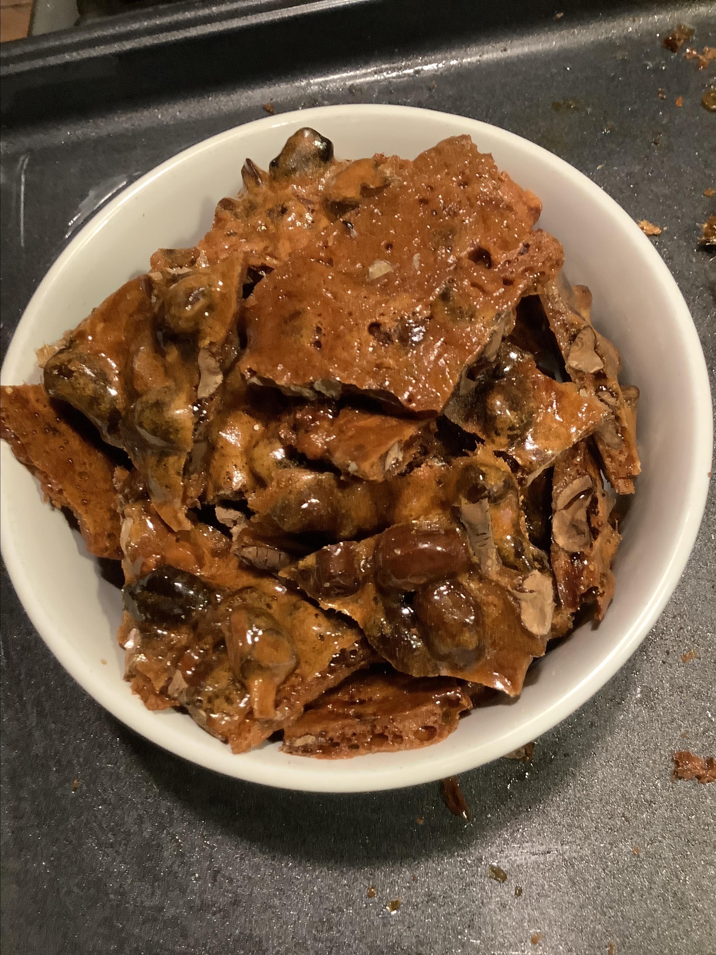 Easy Microwave Cashew Brittle Judith Baker