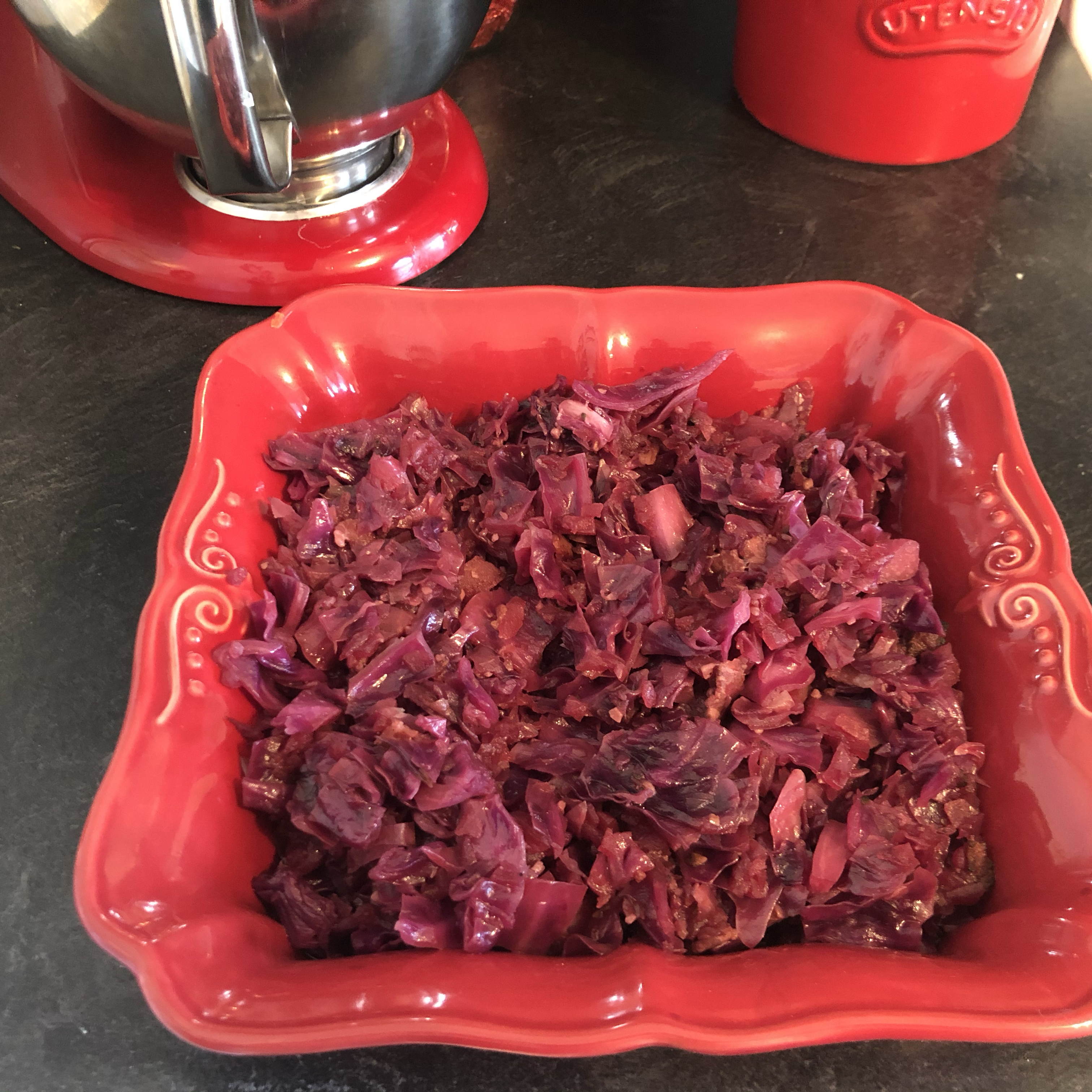 Red Cabbage with Apples Daniel Richard McChesney