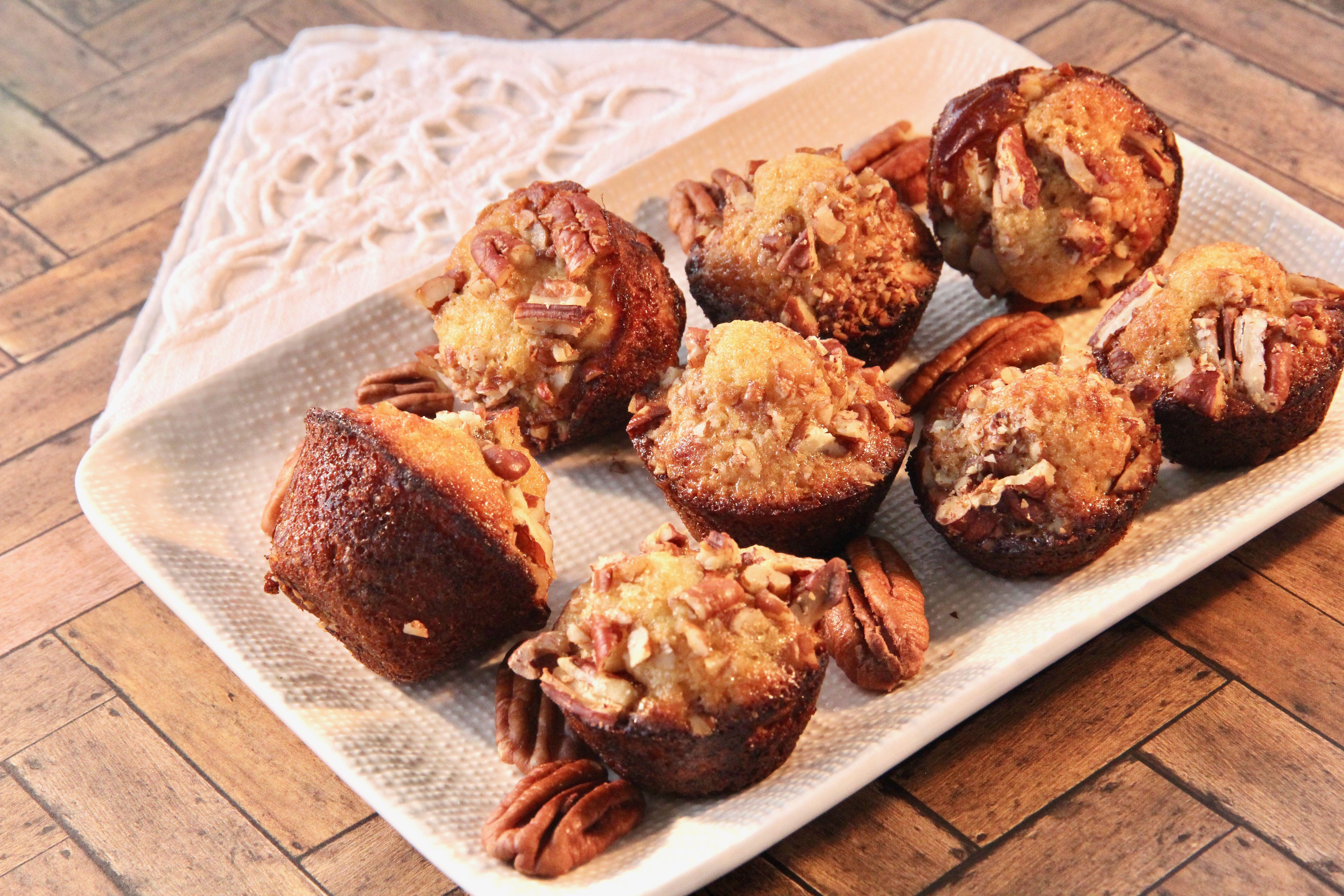 Honey-Pecan Mini Muffins