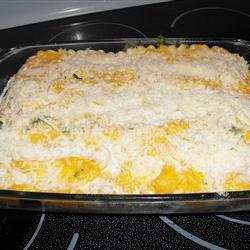 Roasted Butternut Squash and Garlic Lasagna