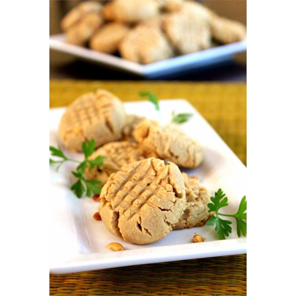 Easy Cake Mix Peanut Butter Cookies Nettie Picetti-Grosjean