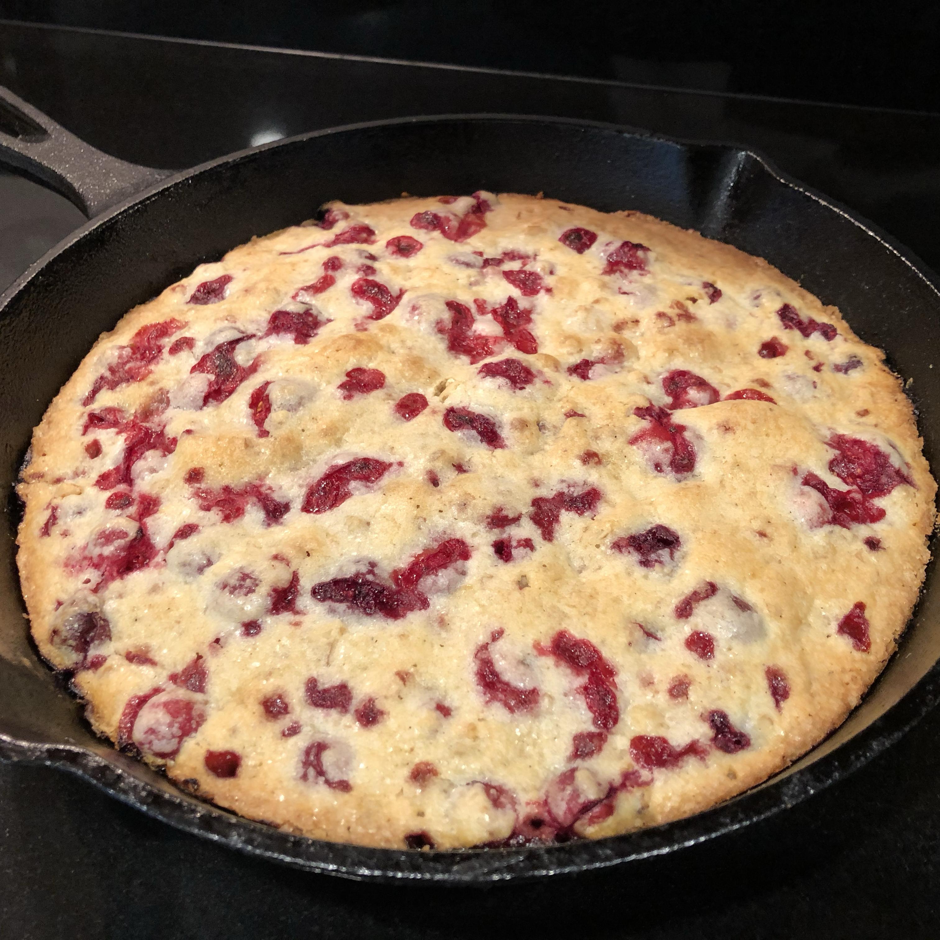 Crustless Cranberry Pie Leon
