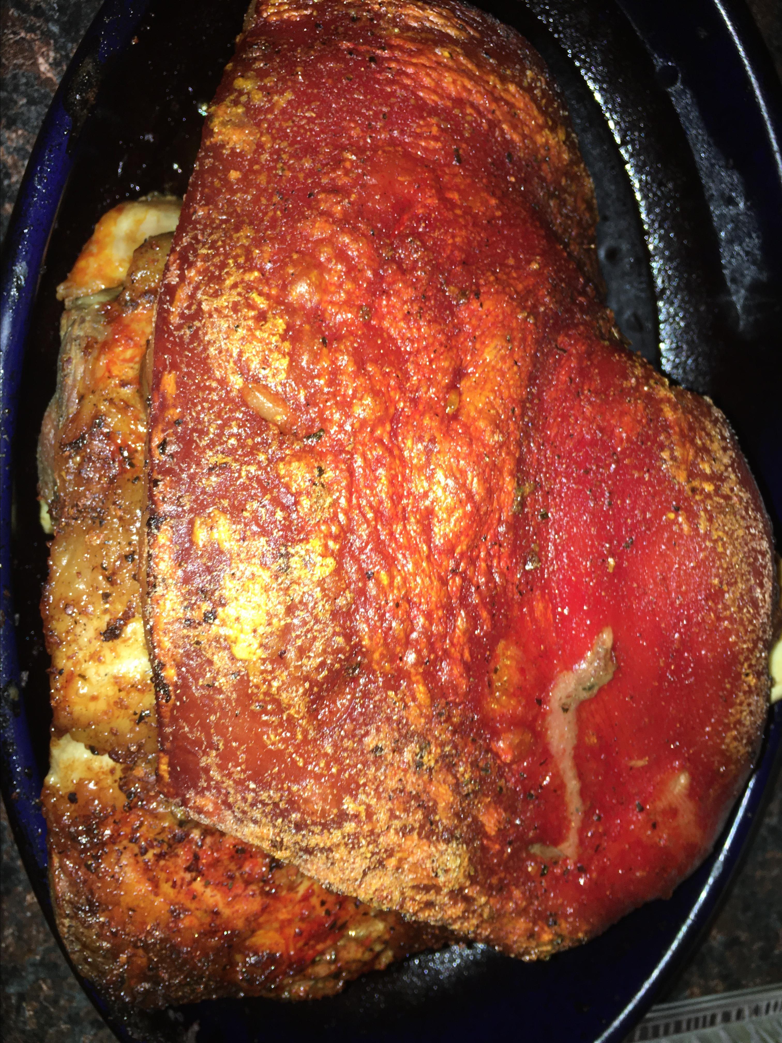 Spanish Roasted Pork (Pernil)