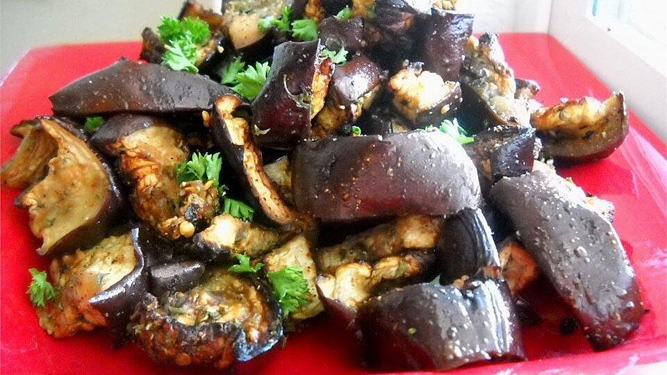 Italian Eggplant Salad