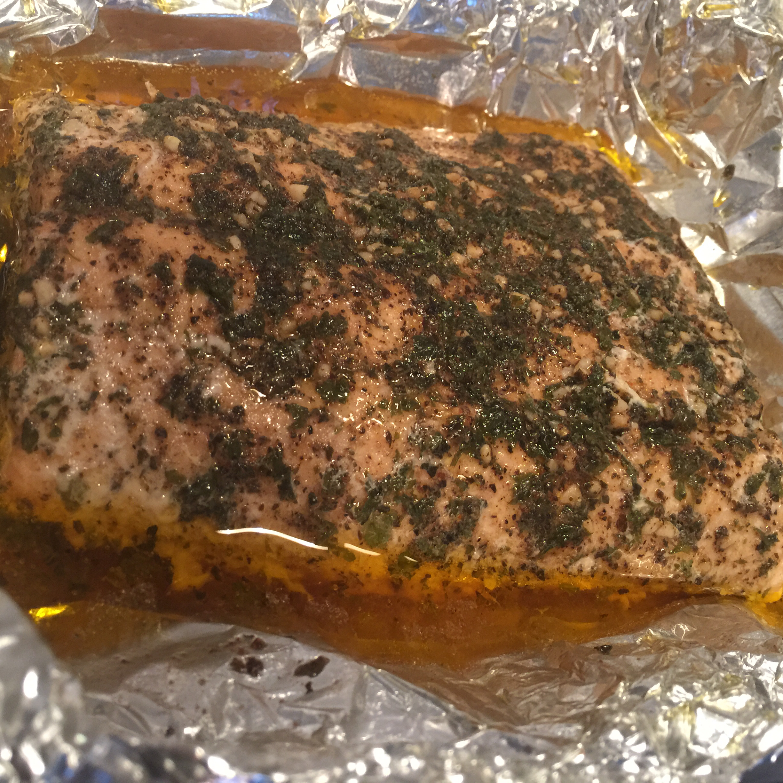 Baked Salmon II Raymond Callahan