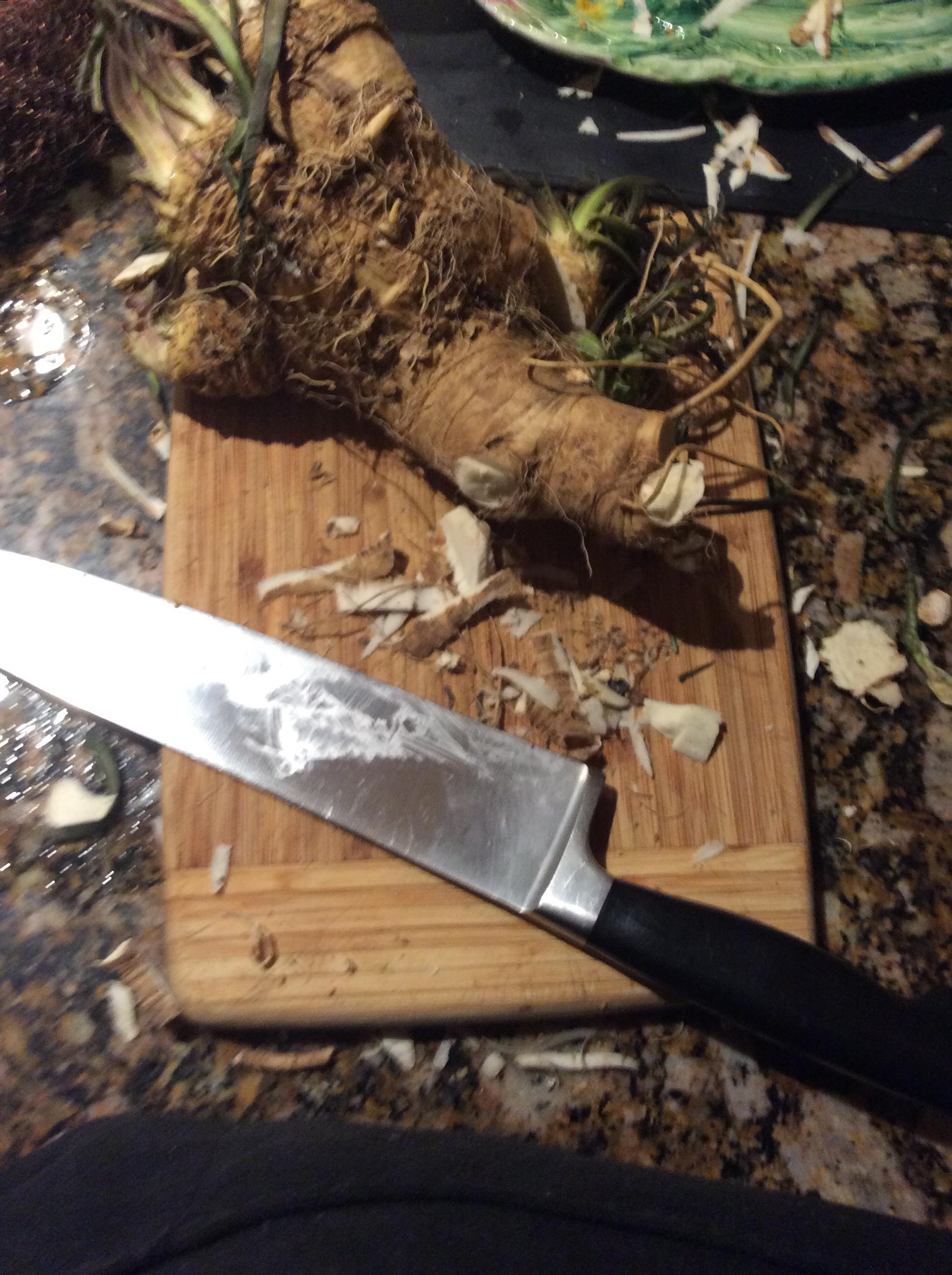Homemade Horseradish Andrea