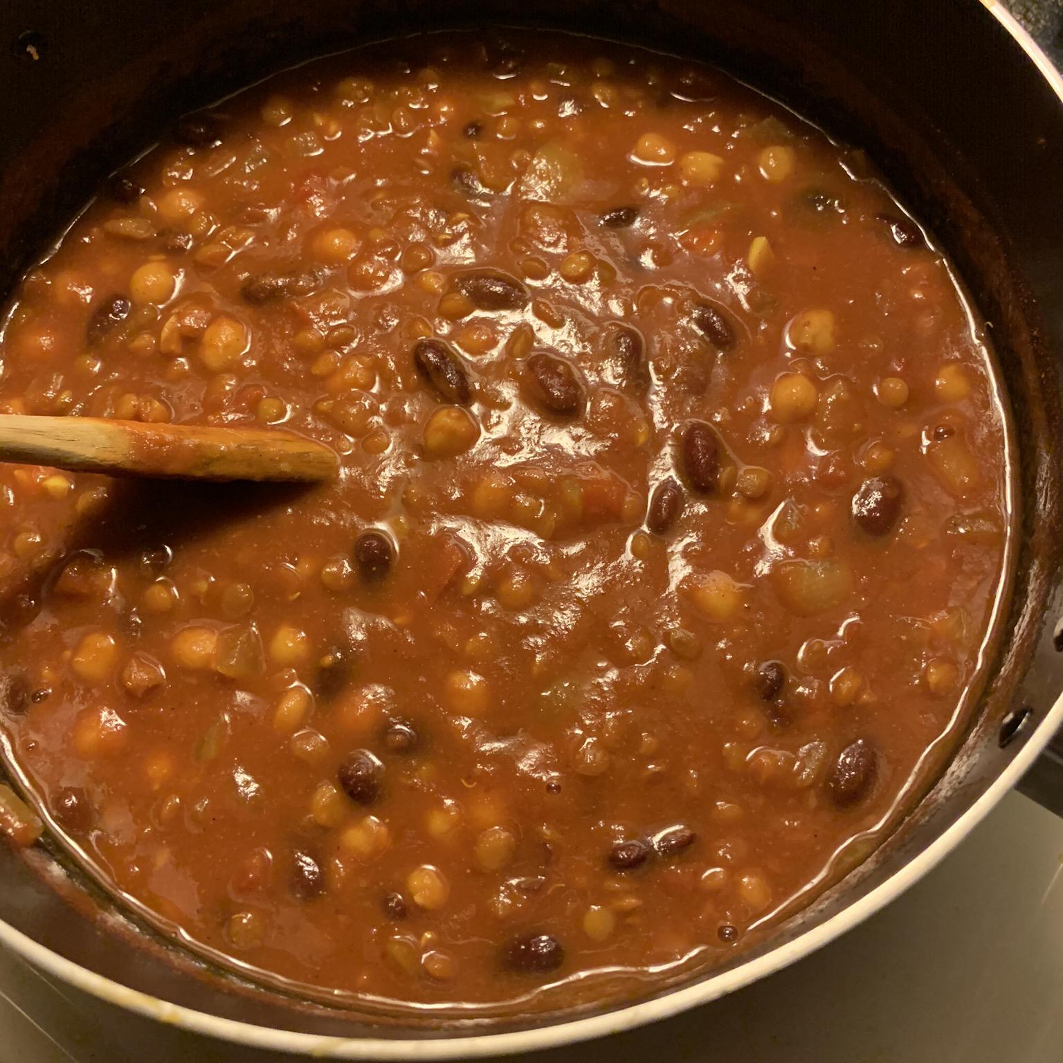 Vegetarian Bean Curry