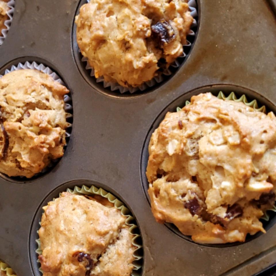 Vegan Date Sweet Potato Muffins sallyjsevans@gmail.com