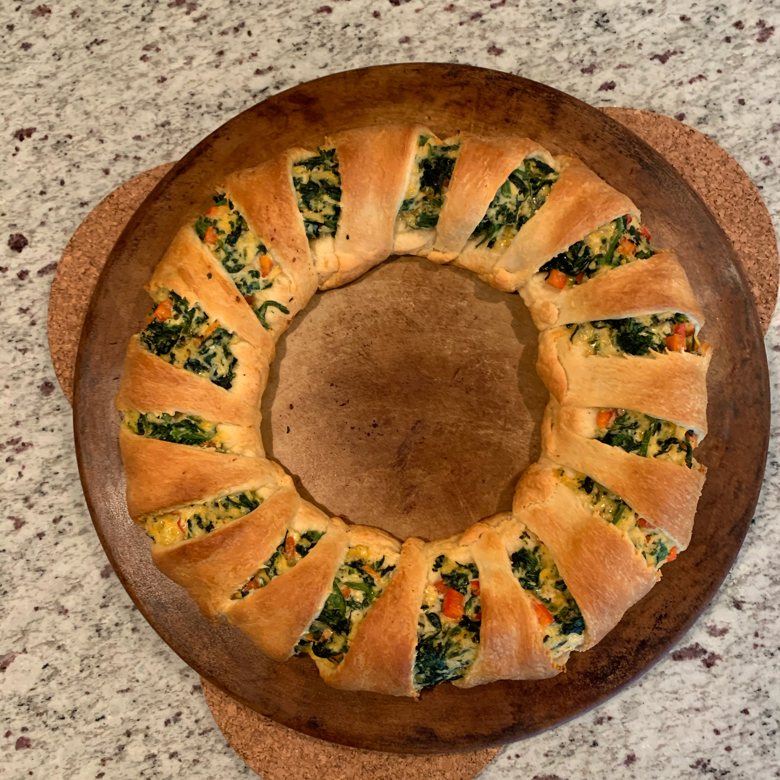 Florentine Chicken Ring Michele Kuch Morelli