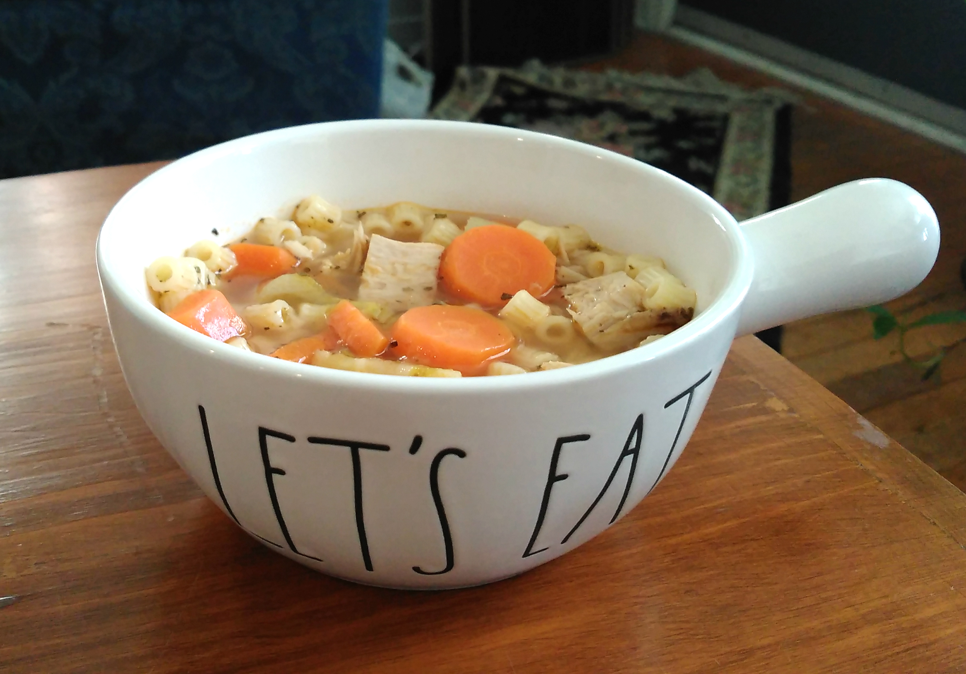 Instant Pot® Turkey Soup