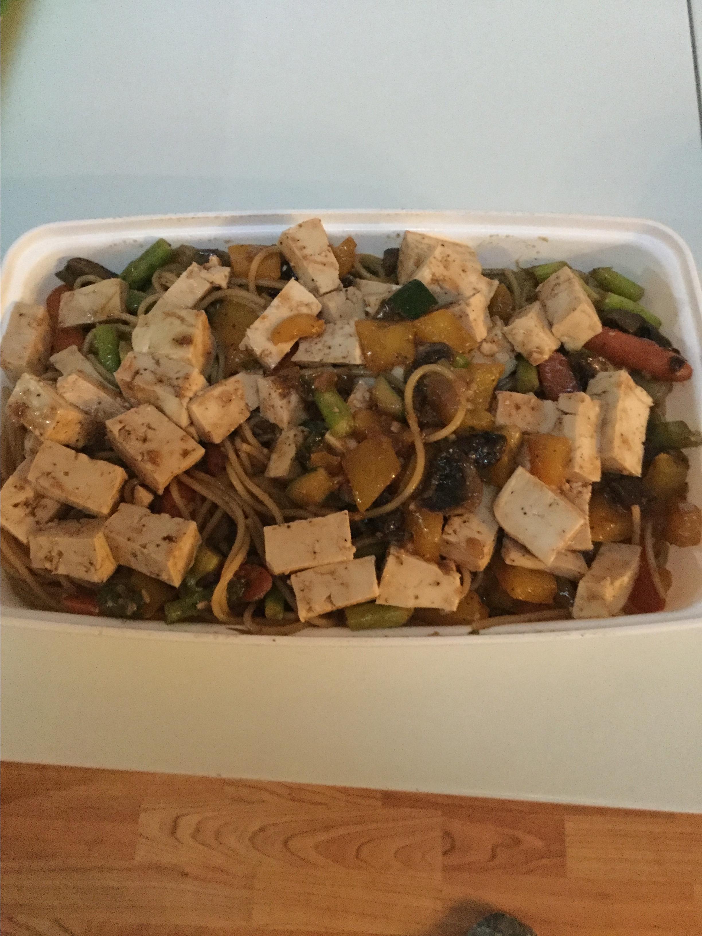 Spicy Stir-Fried Udon Noodles