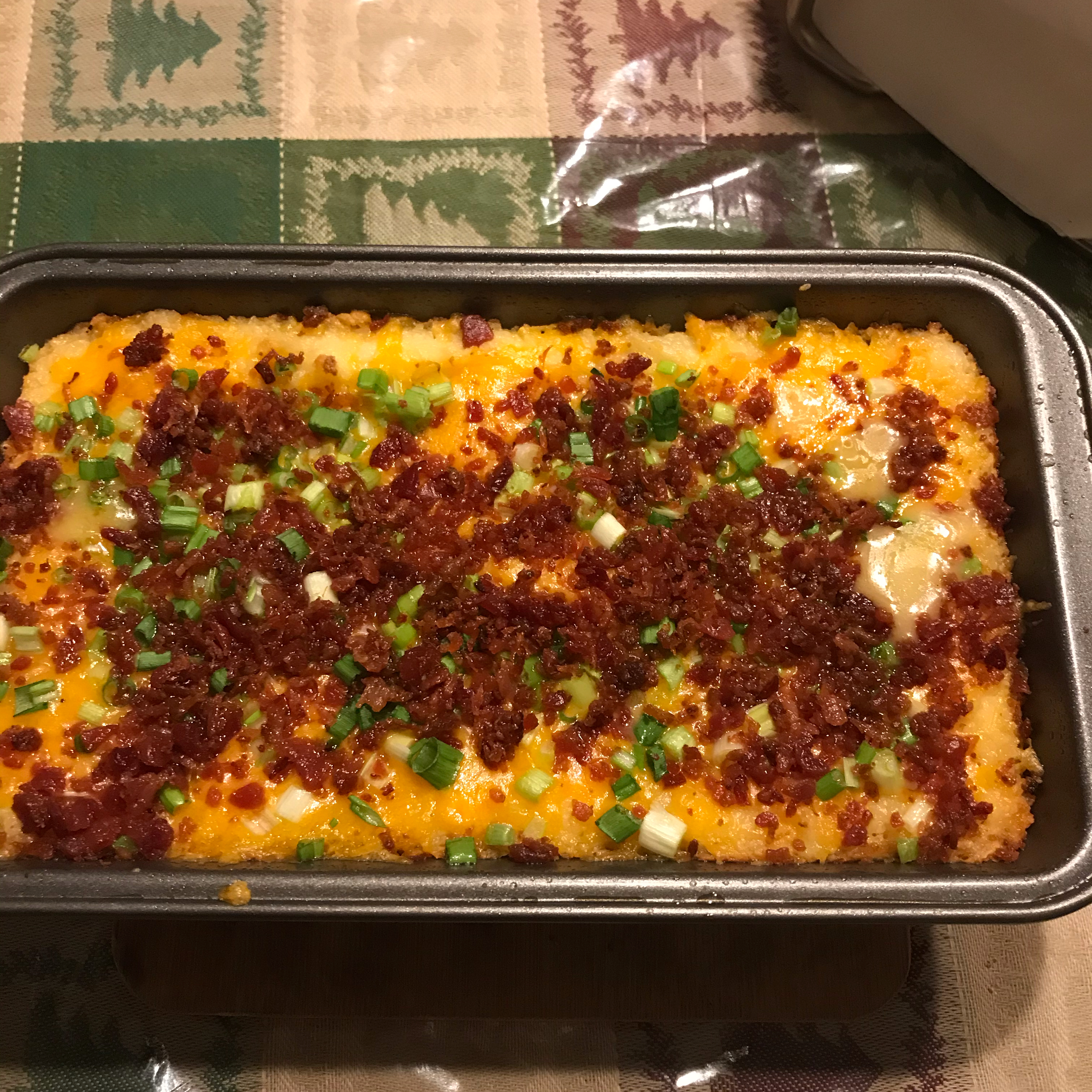 Cheesy Leftover Ham and Mashed Potato Casserole Karolyn Abreu