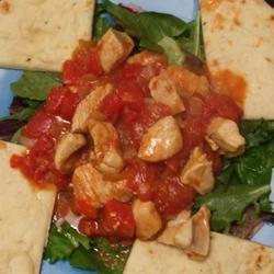 Curried Mango Chicken chefboyargee