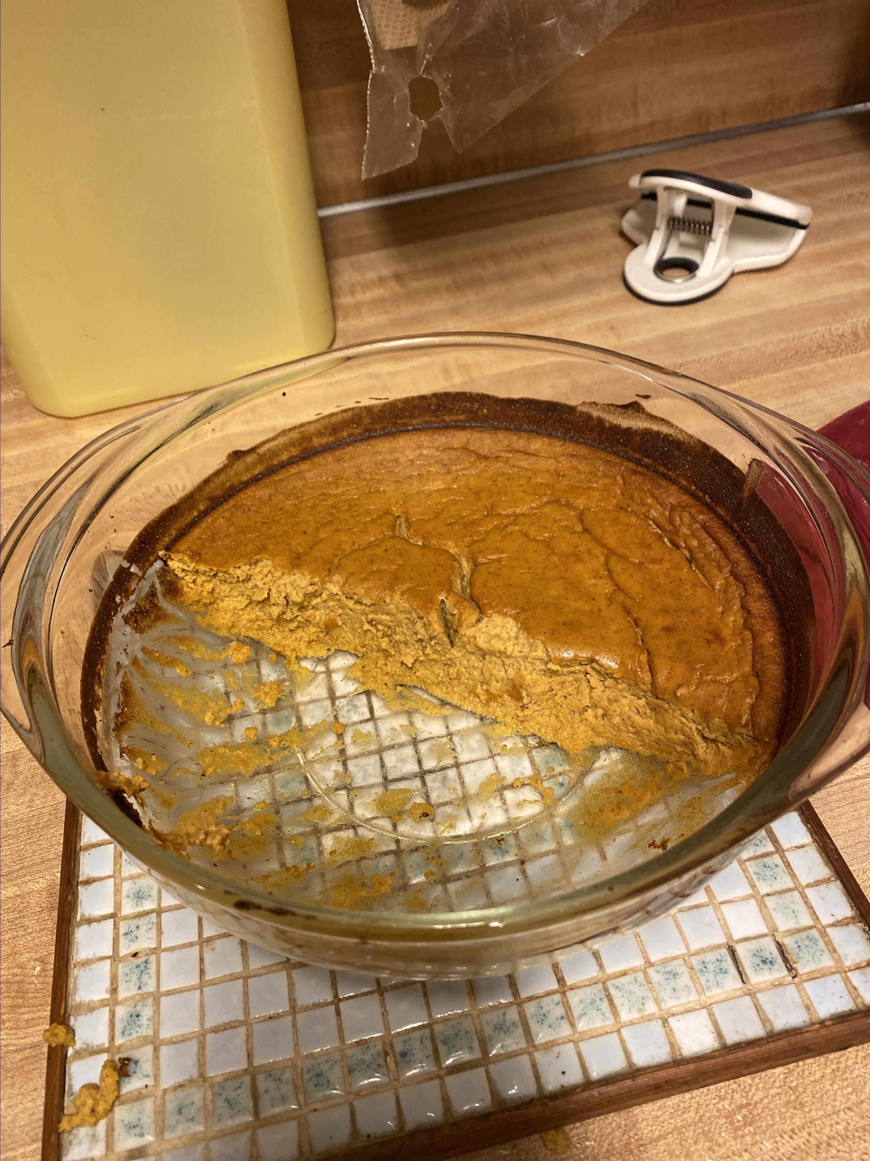 Pumpkin Custard Pie Natishia M Curry