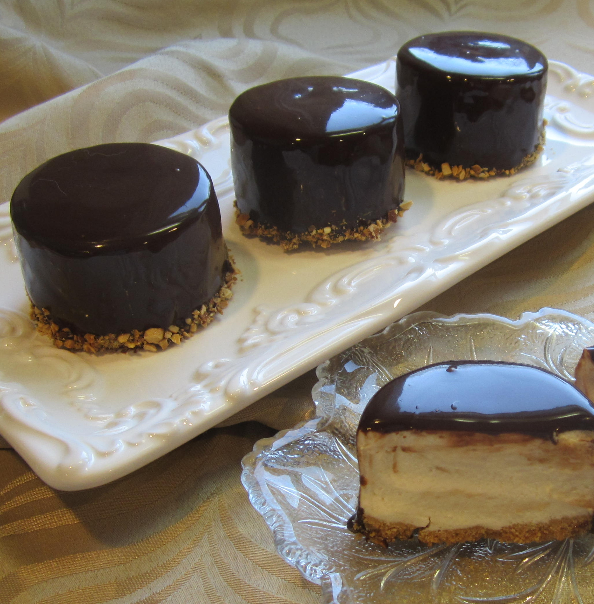 Laurie's Amaretto Mousse Cheesecake Deb C
