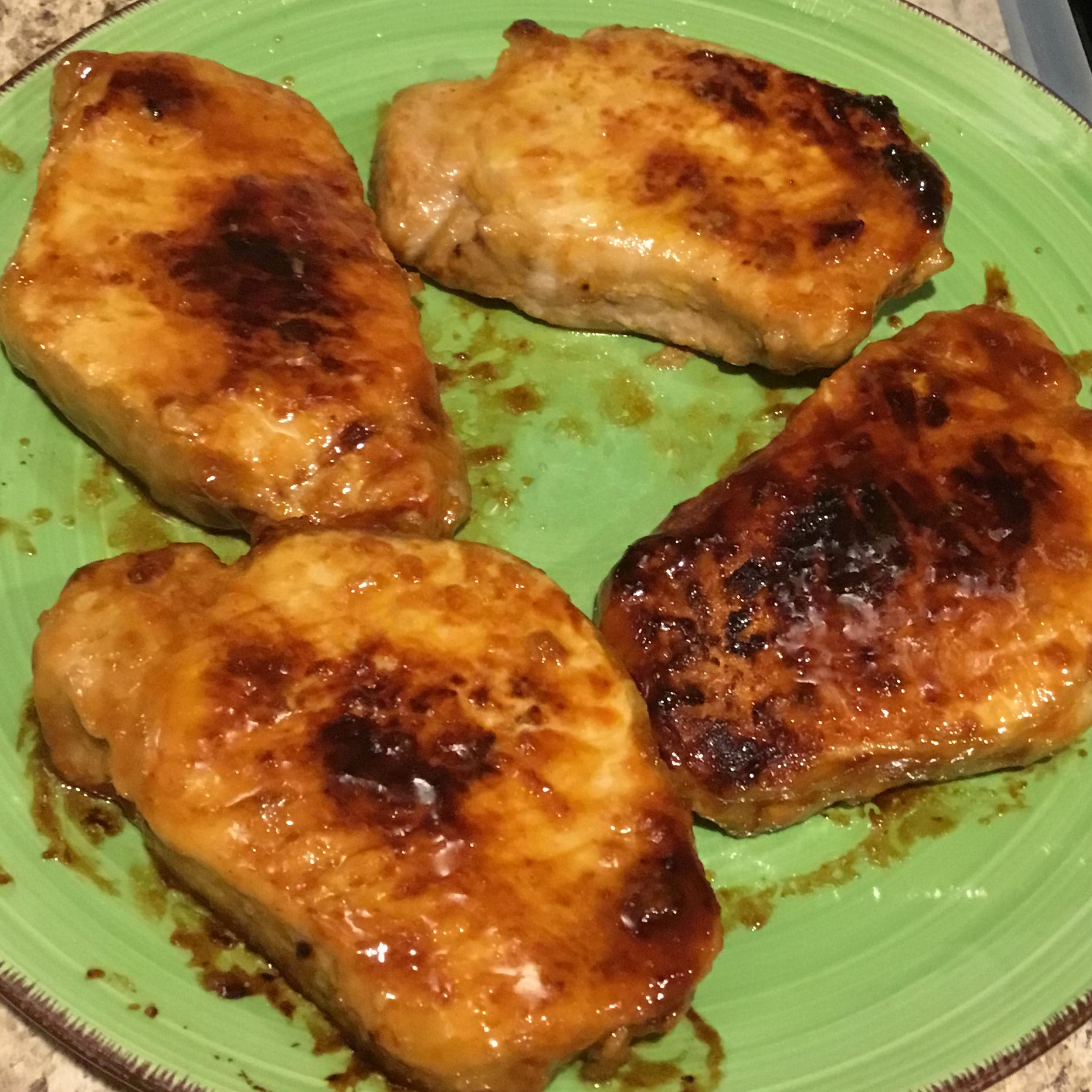 Honey Mustard Pork Chops
