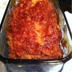 Shelby's Microwave Meat Loaf melynda Oliver