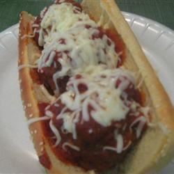 Meatball Sandwich wifeyluvs2cook