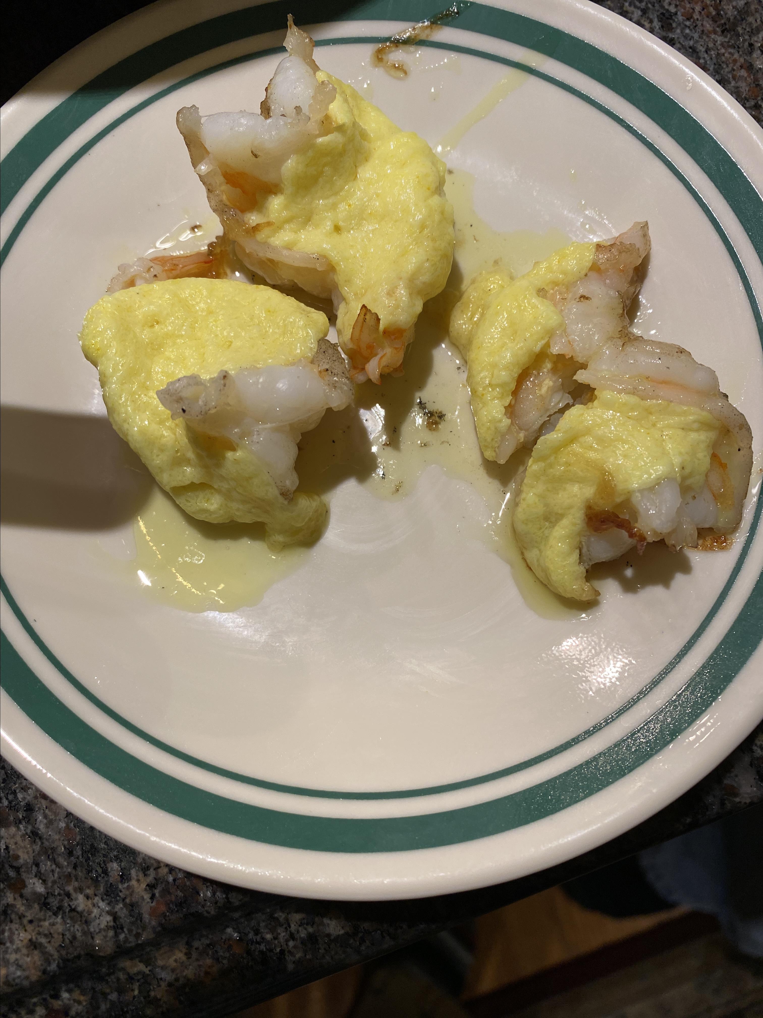 Japanese Steakhouse Golden Shrimp