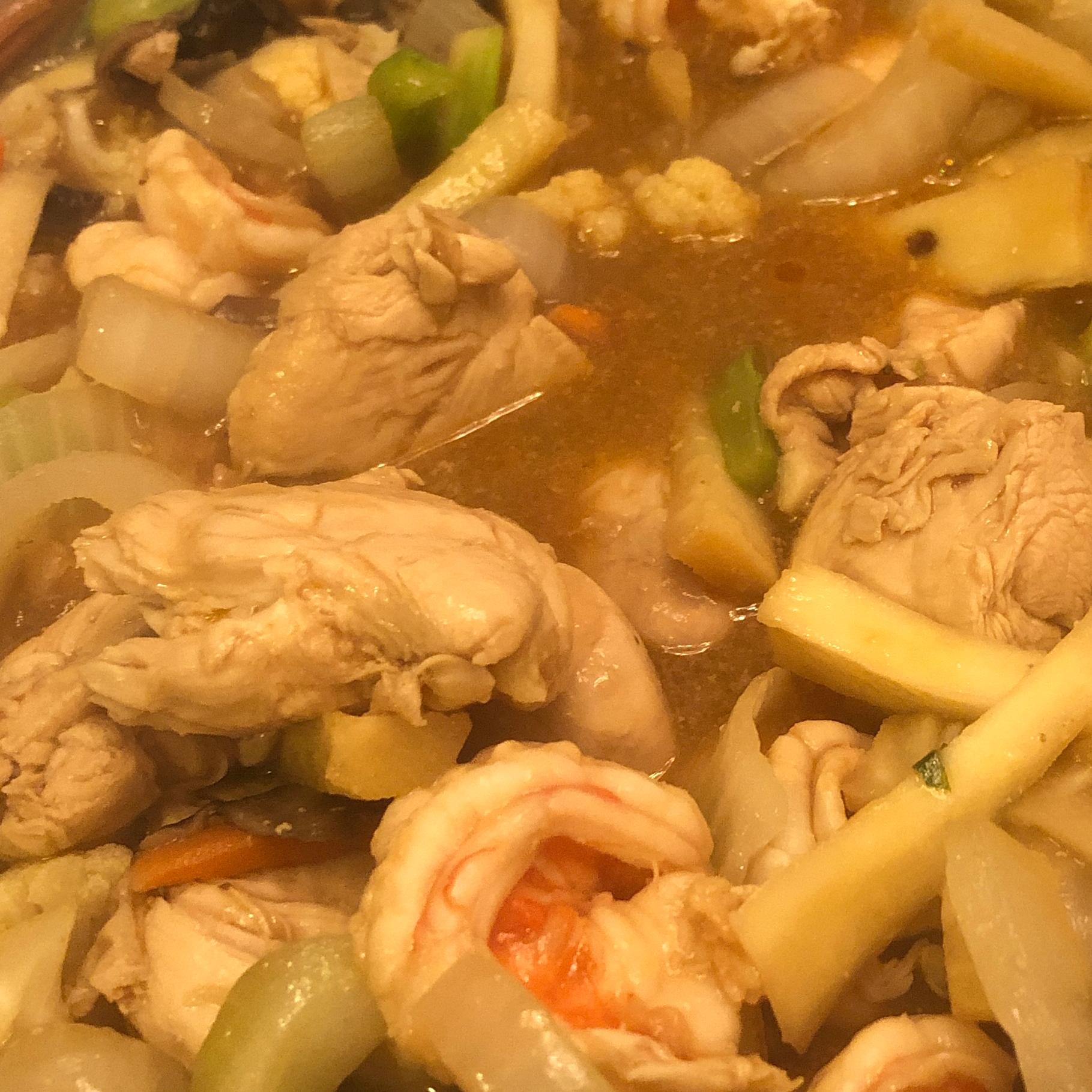 Shrimp Stir-Fry dotress