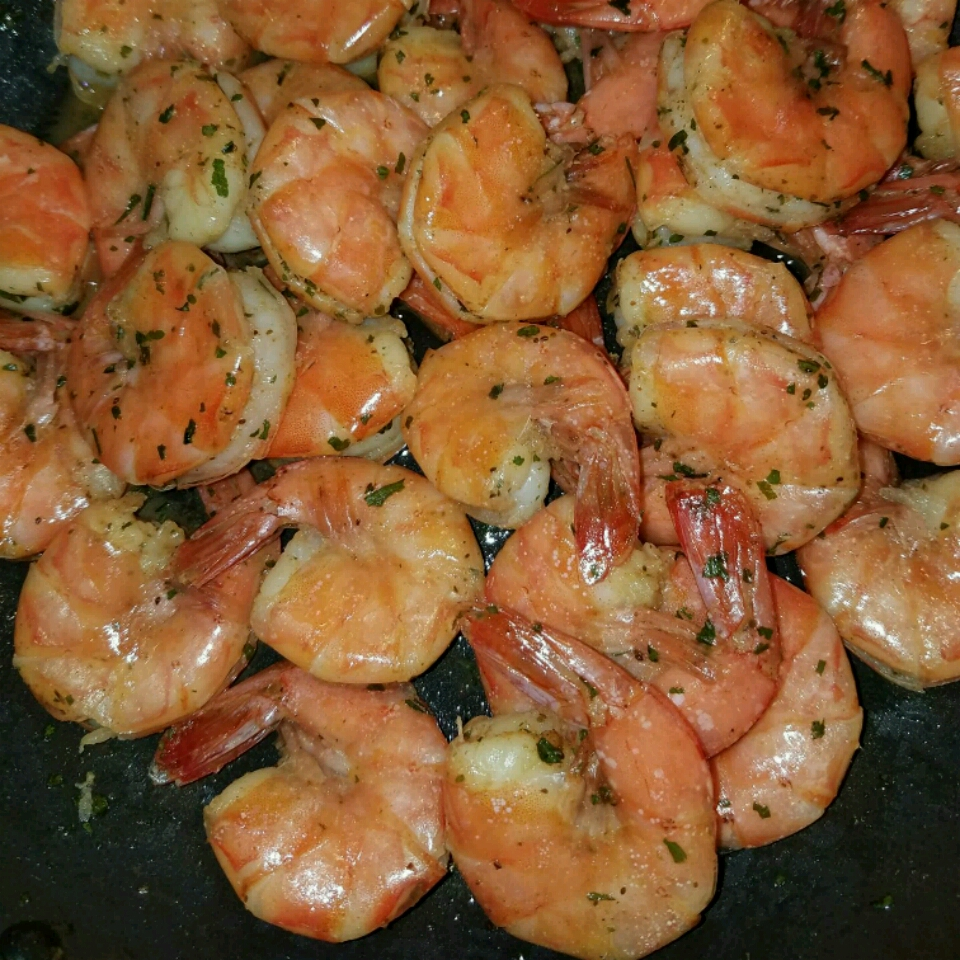 Spicy Steamed Shrimp