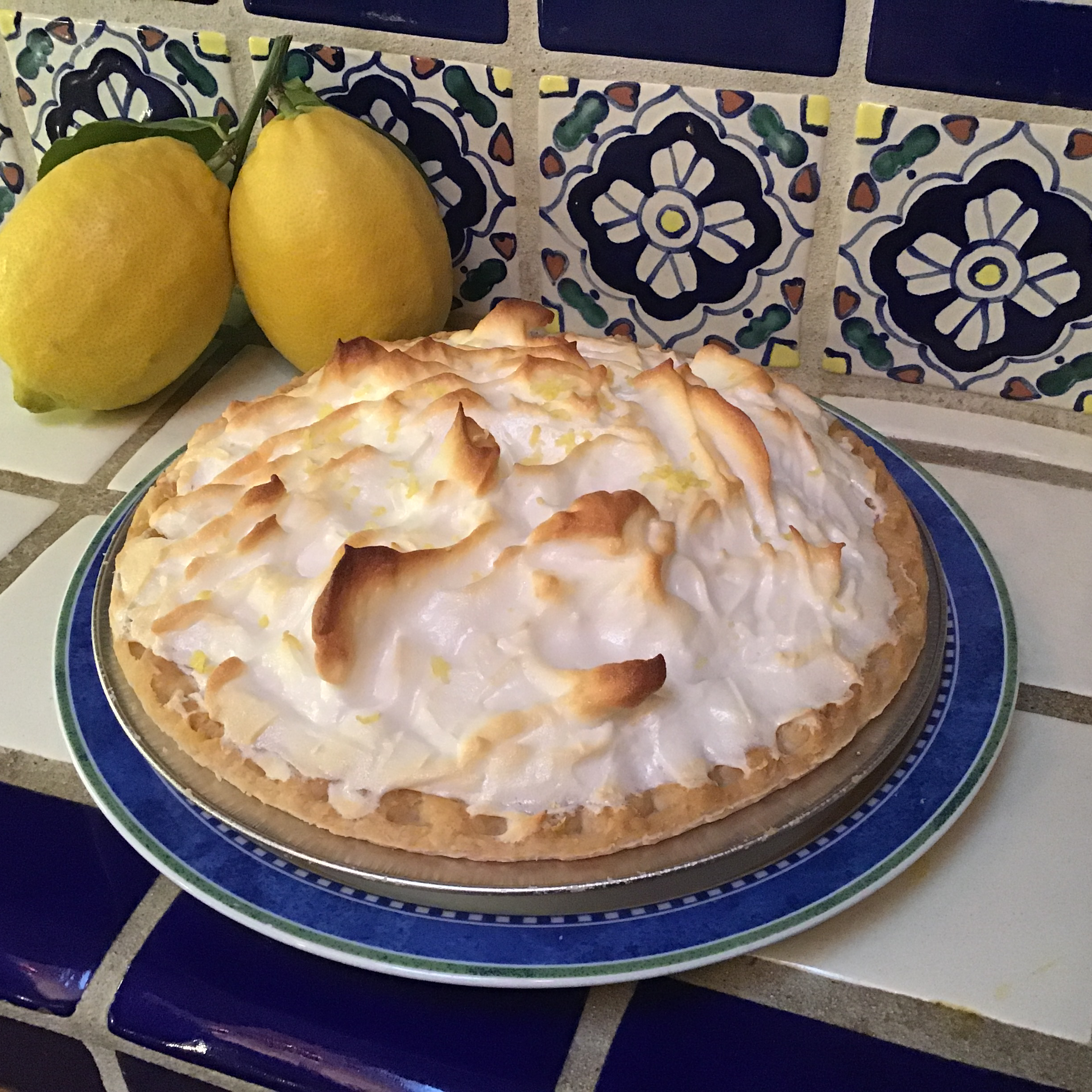 Agave-Sweetened Lemon Meringue Pie