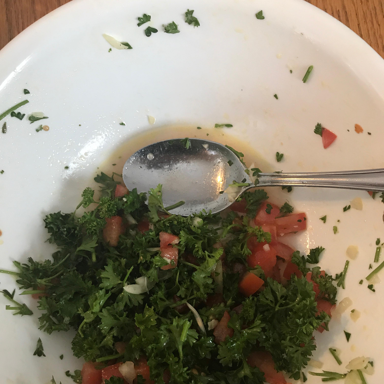 Lebanese Lemon Salad Dressing