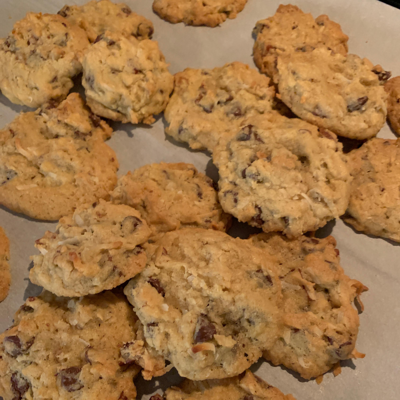 Pecan Coconut Chocolate Chip Cookies