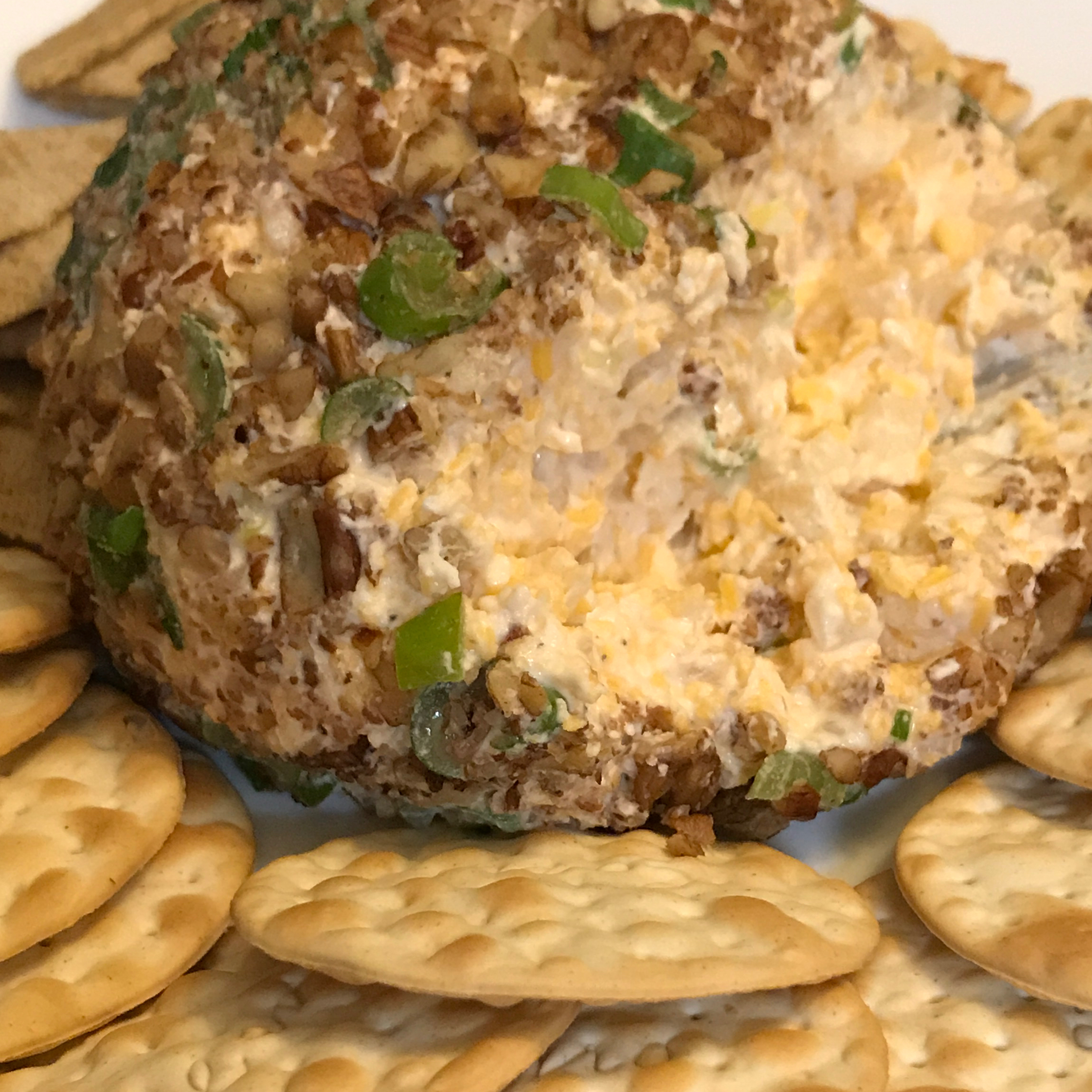 Pear-Pecan Cheese Ball frazle