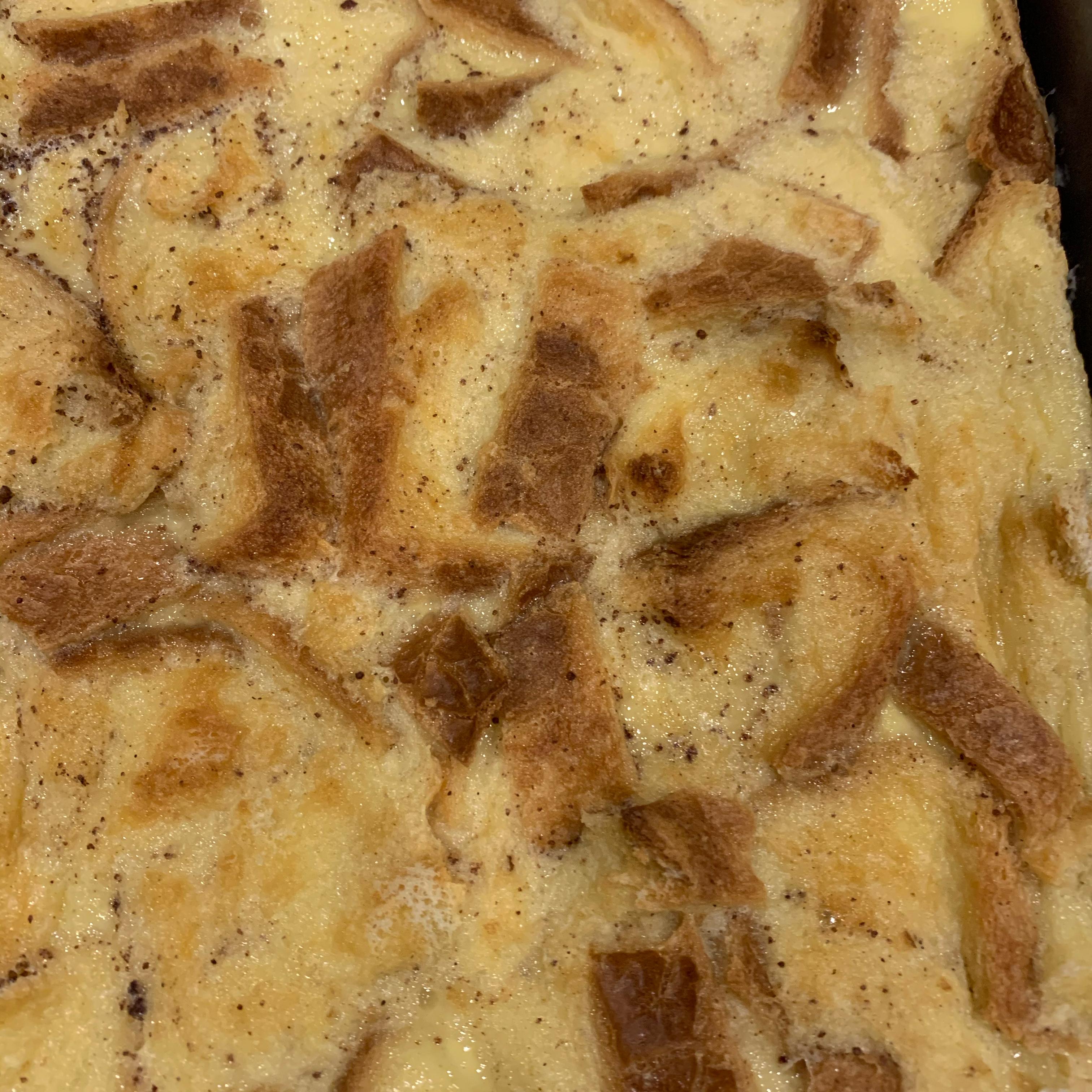 Raisin Bread Pudding I
