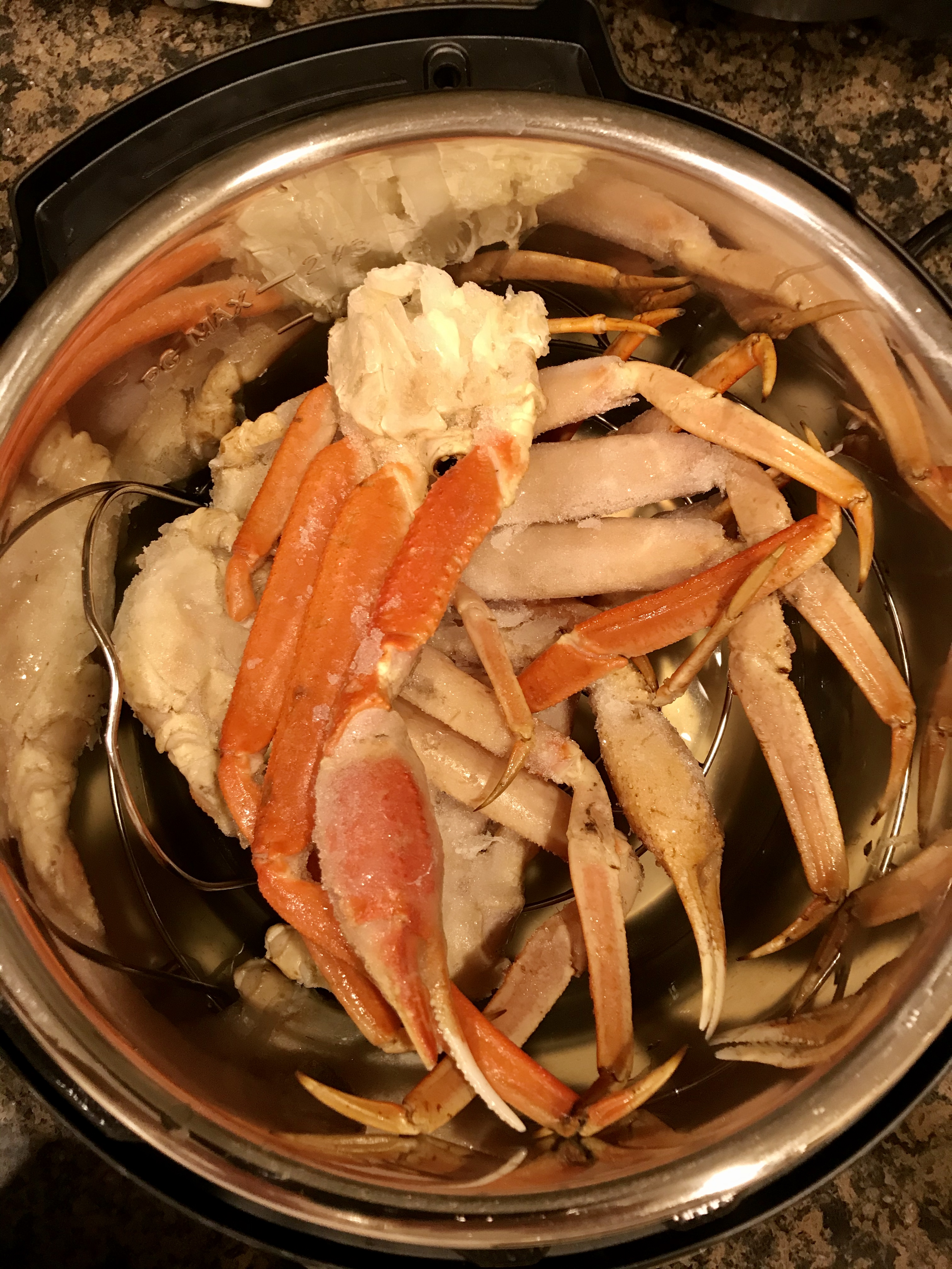 Instant Pot® Simple Steamed Crab Legs Angie R
