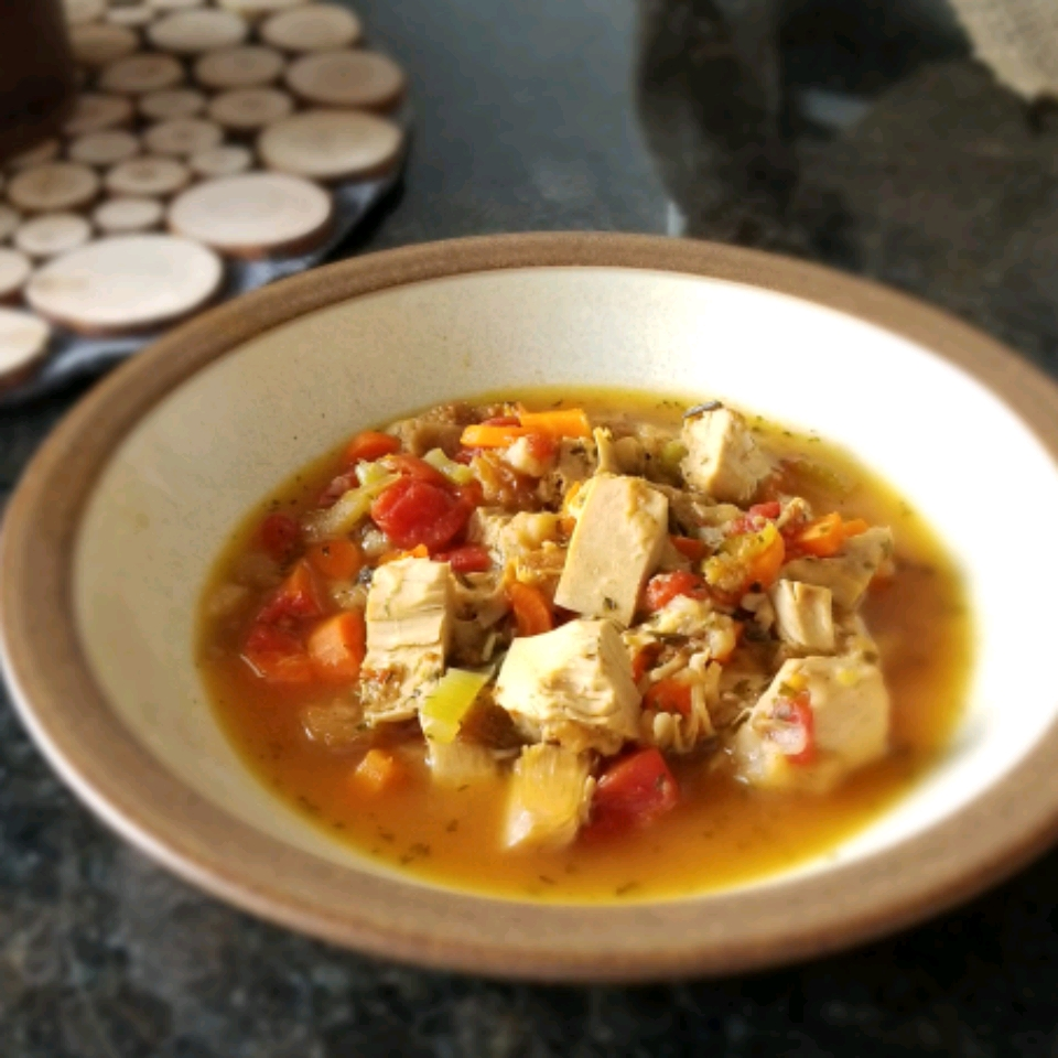 Turkey Stuffing Soup
