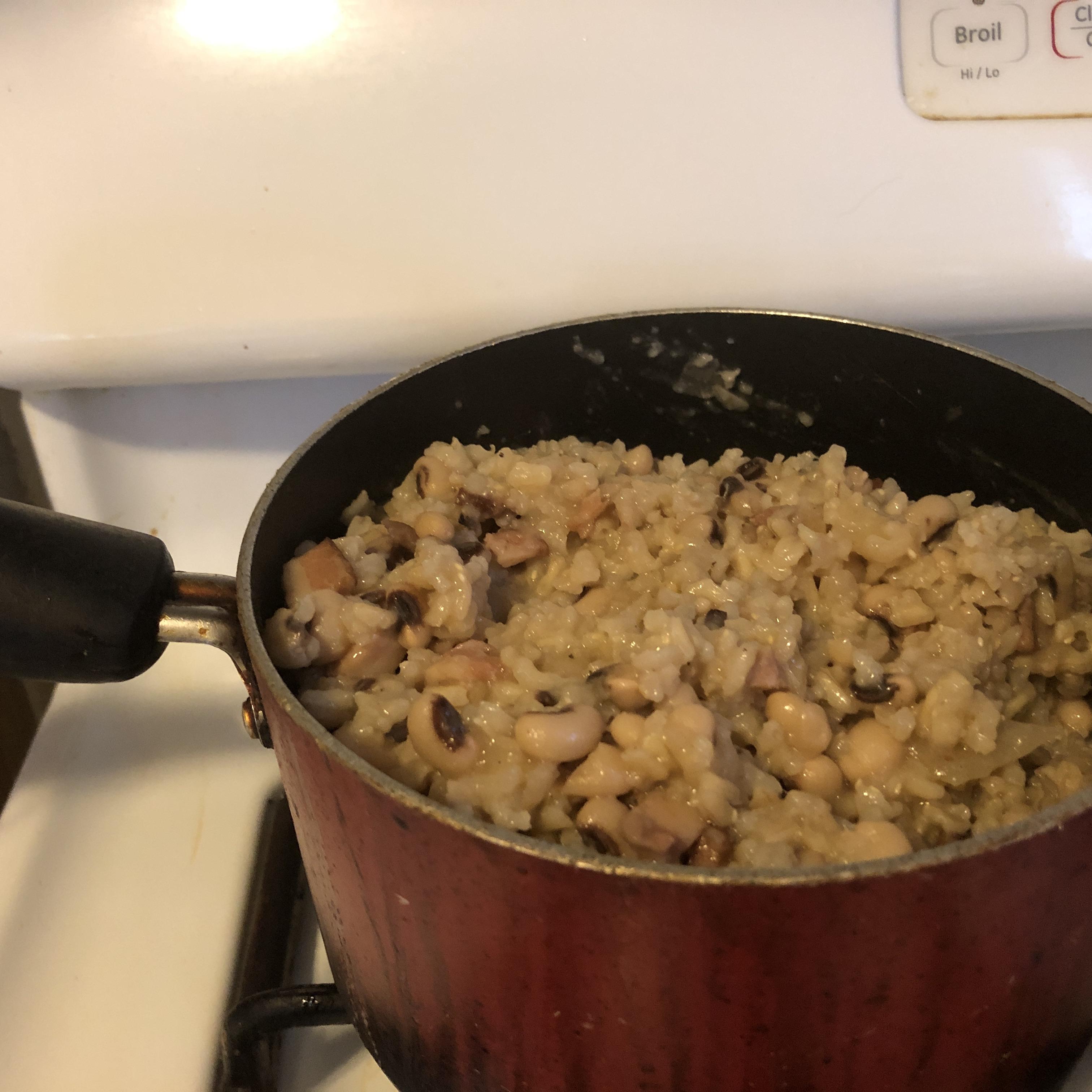 Black-Eyed Peas and Rice Aprilita Briggs