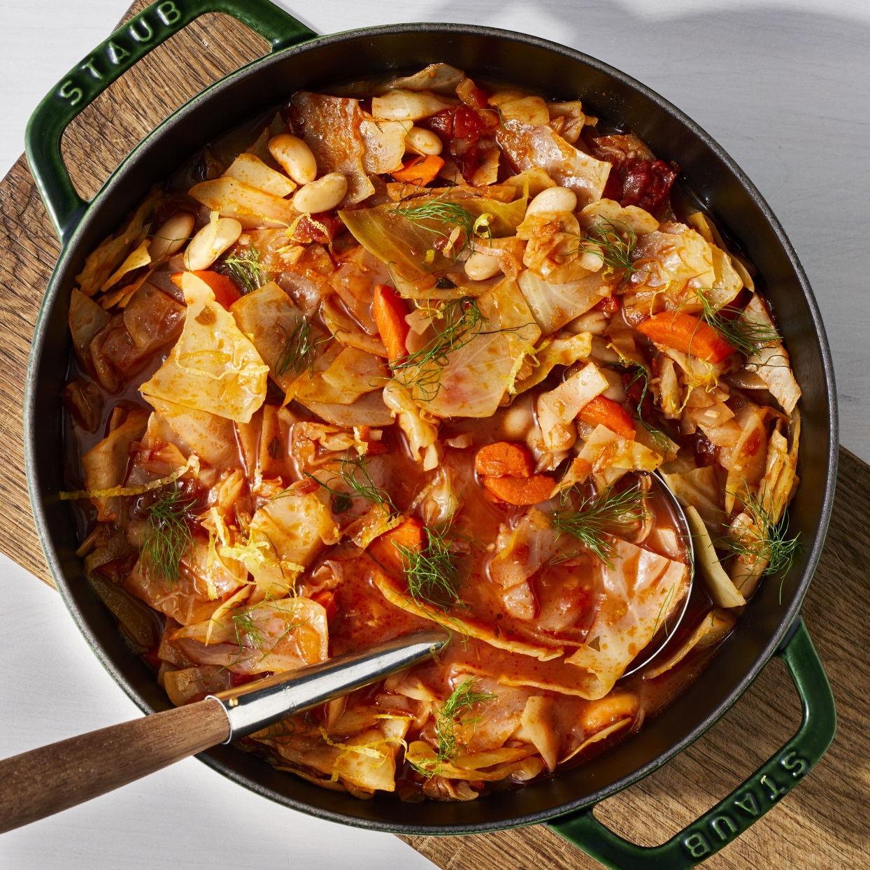 Mediterranean Cabbage Soup Recipe Eatingwell