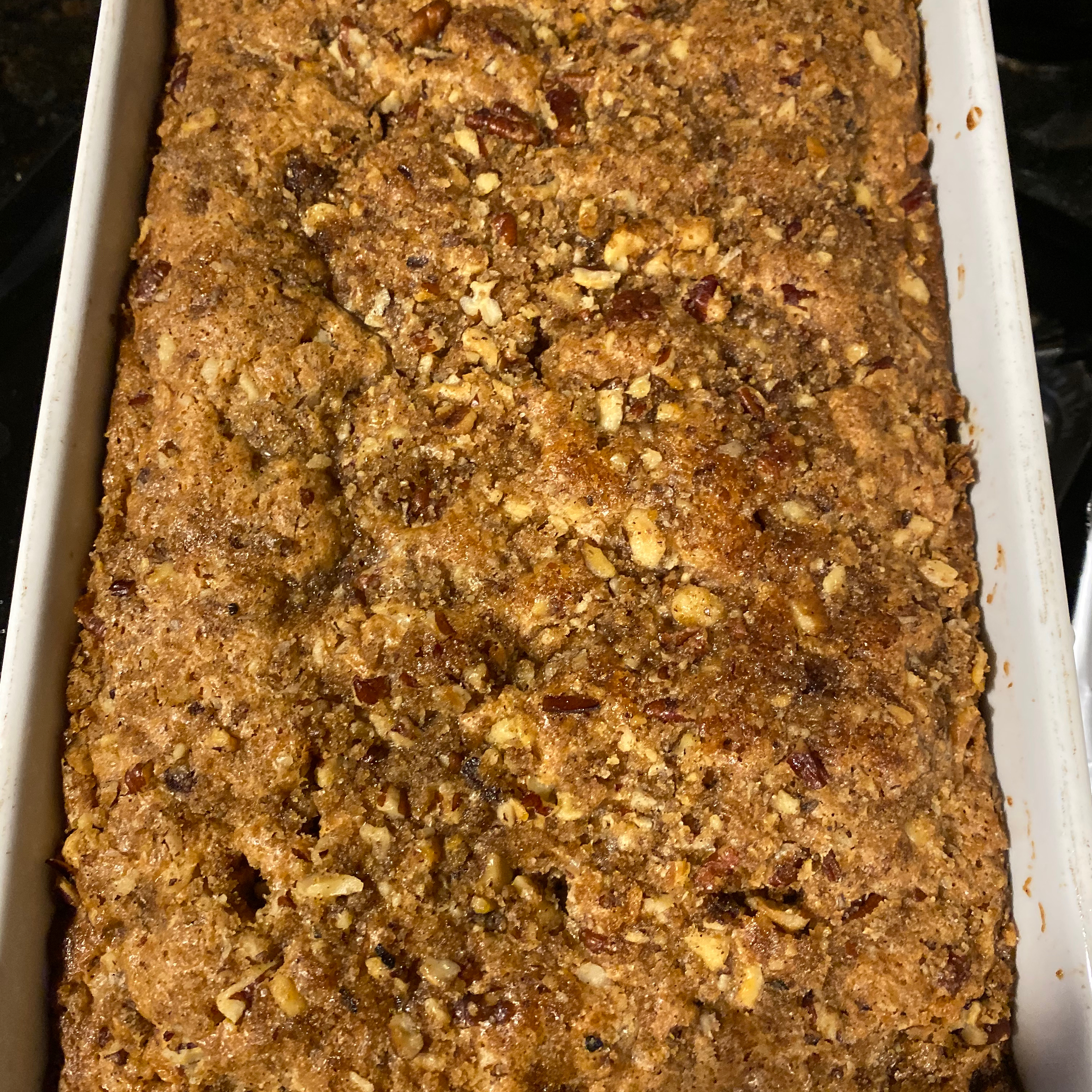 Pecan Sour Cream Coffee Cake