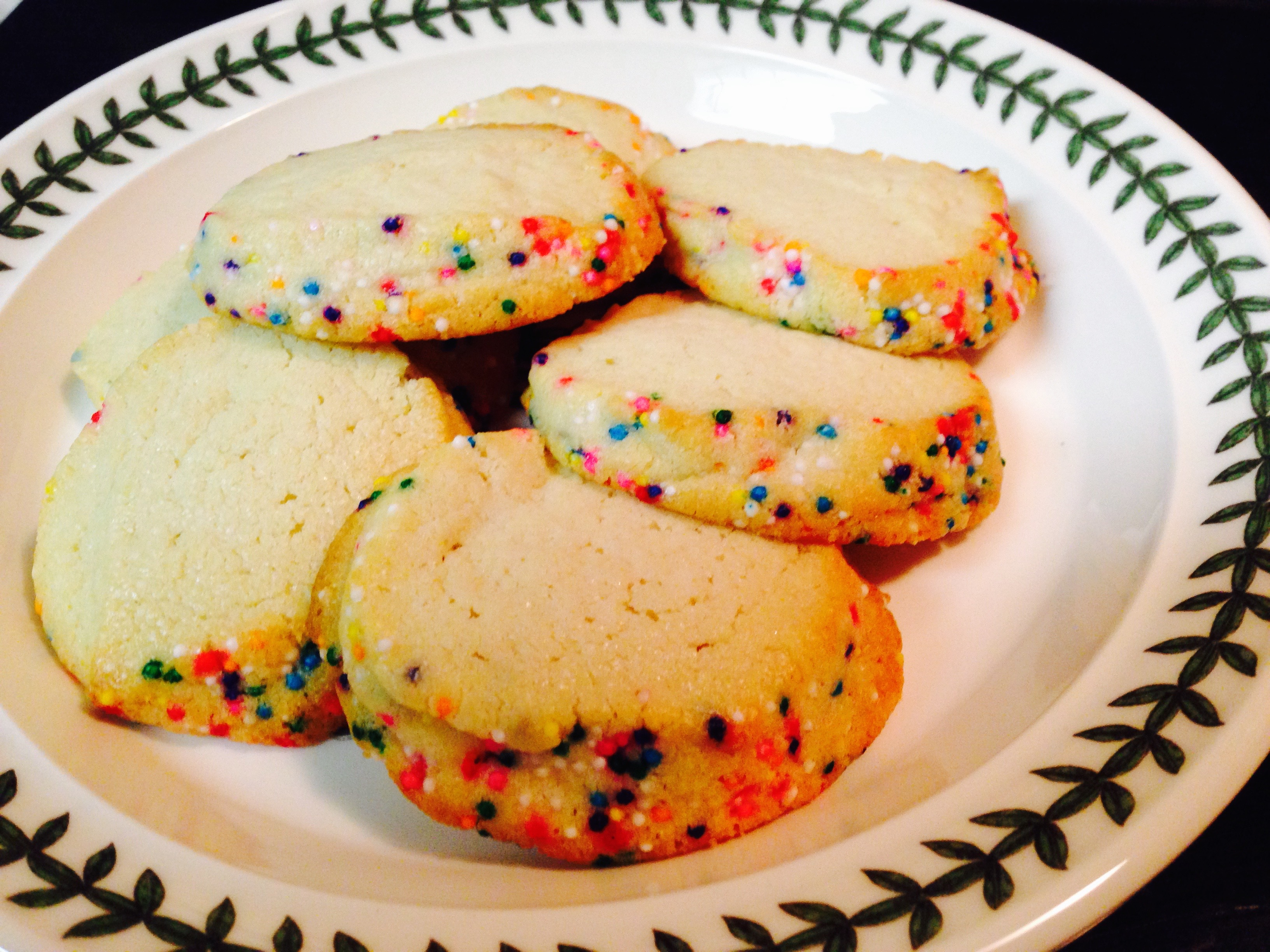 Freezer Butter Cookies Kristine