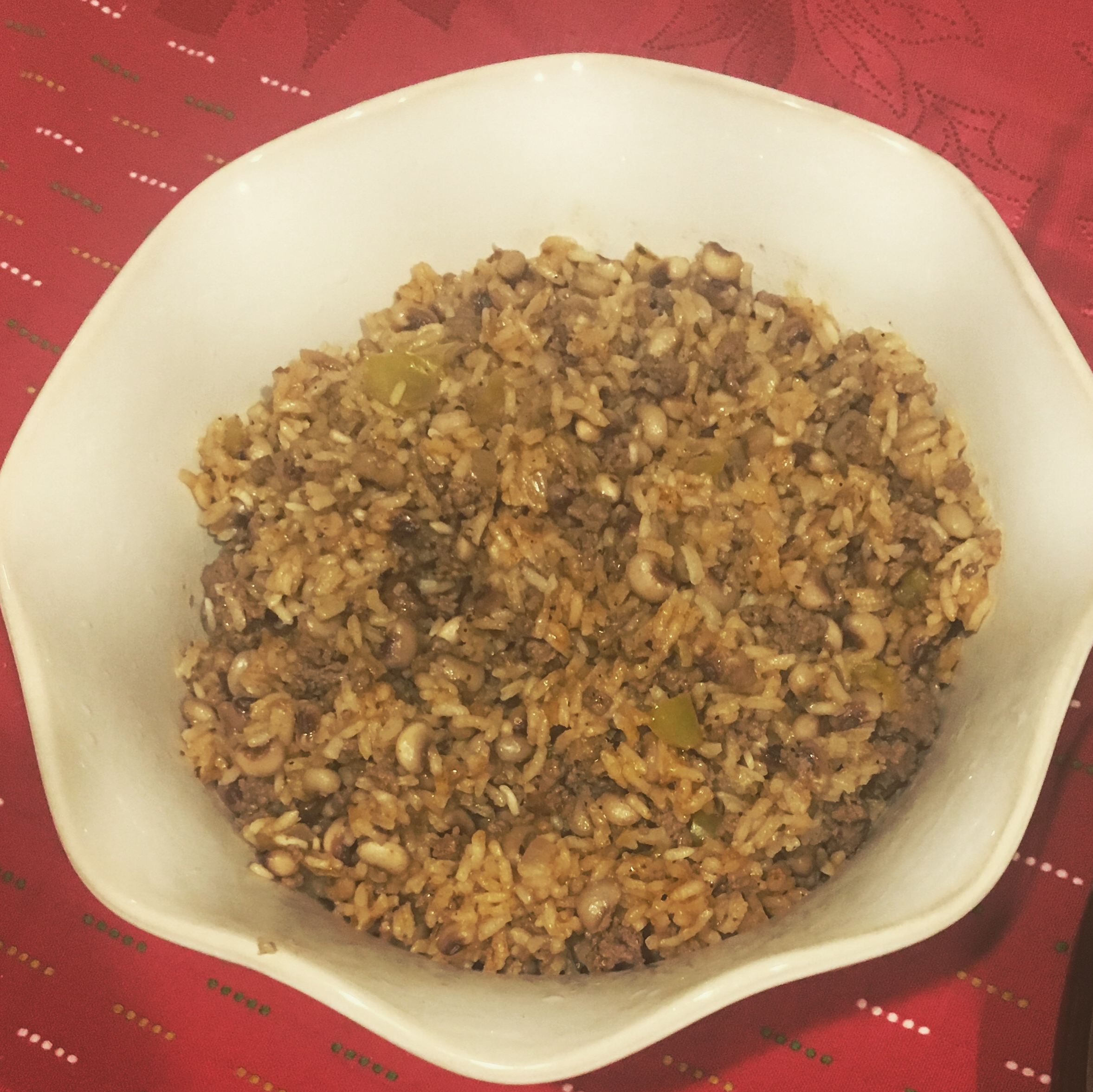 Creole Black-Eyed Peas and Rice mamalaylow