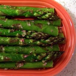 Broiled Asparagus with Lemon Tarragon Dressing Jill815