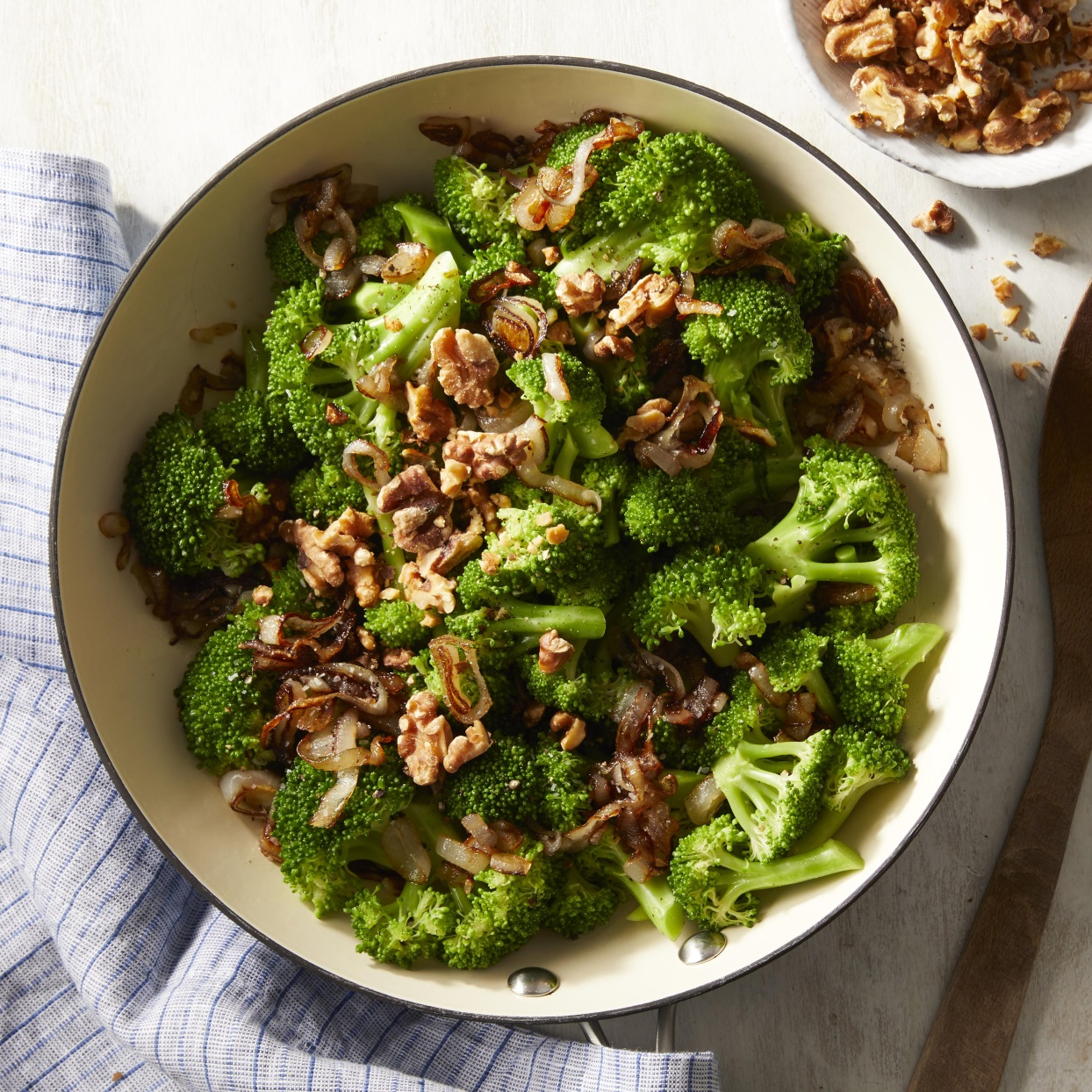 Broccoli with Caramelized Shallots