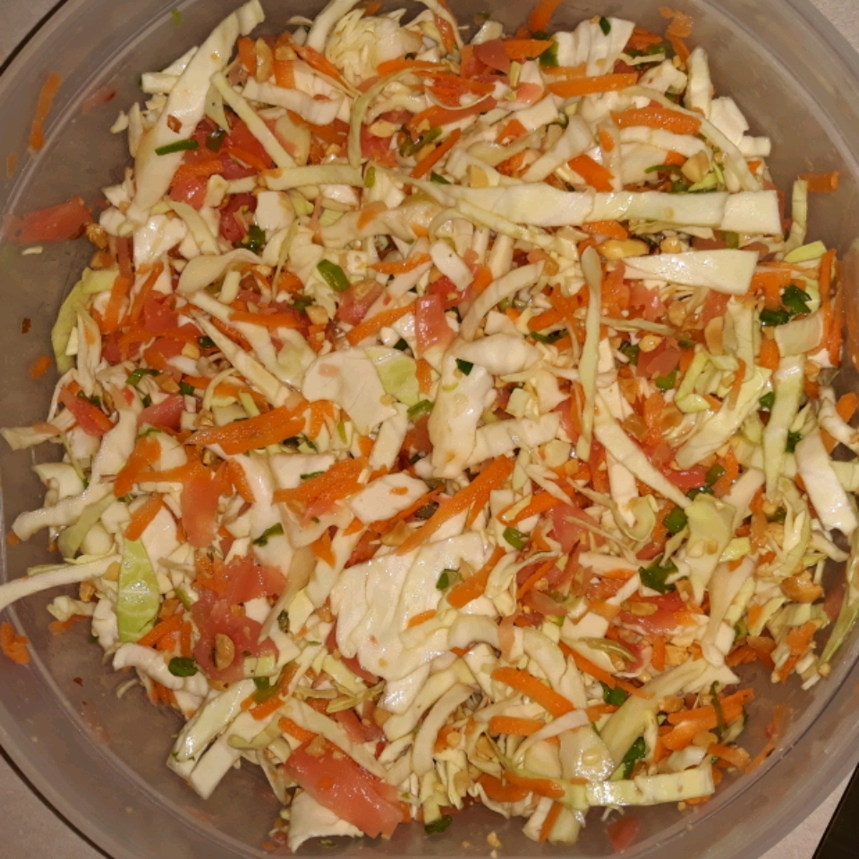 Ginger-Cabbage Salad silver