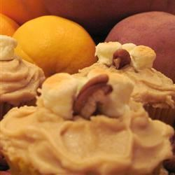 Candy'D Sweet Potato Cupcakes with Brown Sugar Icing Candice