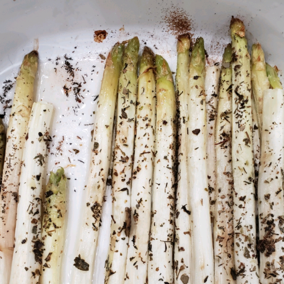 Roasted White Asparagus with Herbes de Provence Nancy Sheinberg