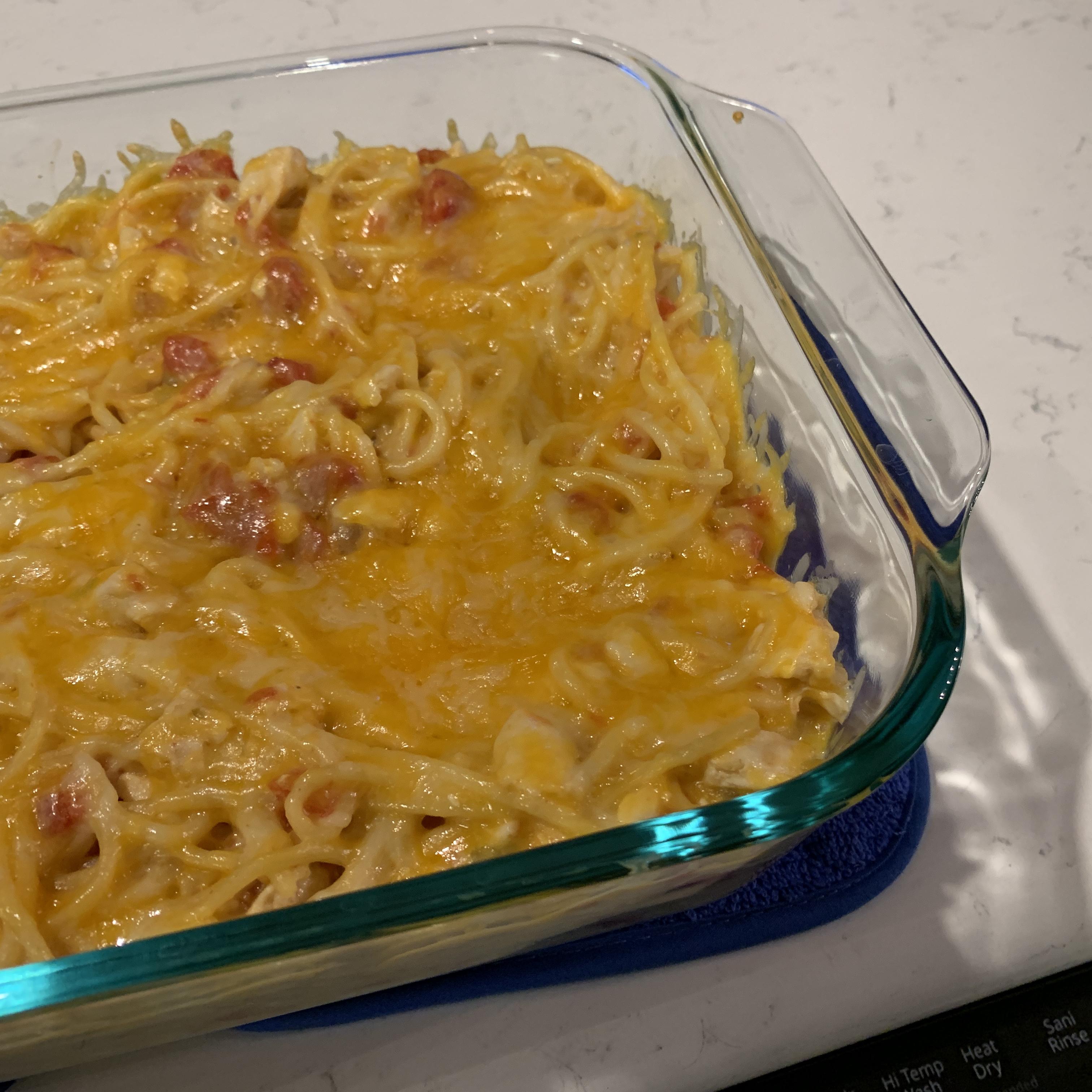 Easy Mexican Chicken Spaghetti Sharon