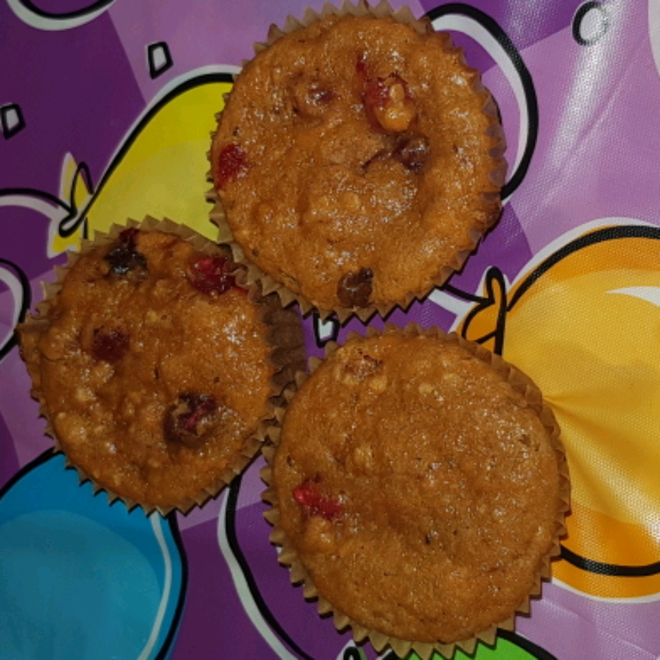 Carrot and Cranberry Muffins donnag1201