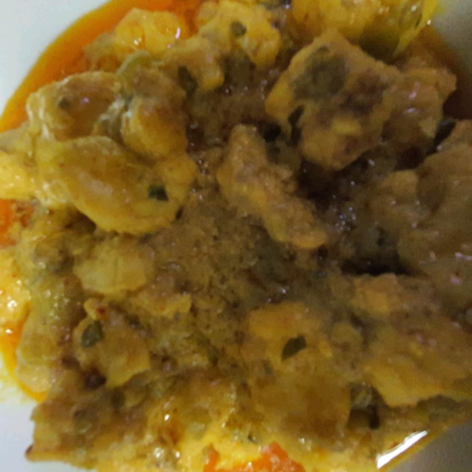 Thai Monkfish Curry Aleina Vuukz